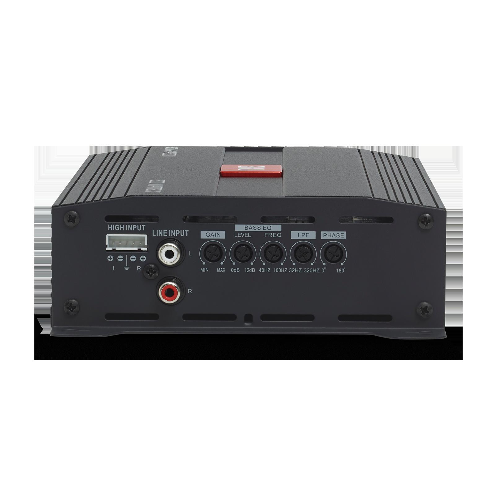 JBL Stage Amplifier A3001 - Black - Class D Car Audio Amplifier - Back