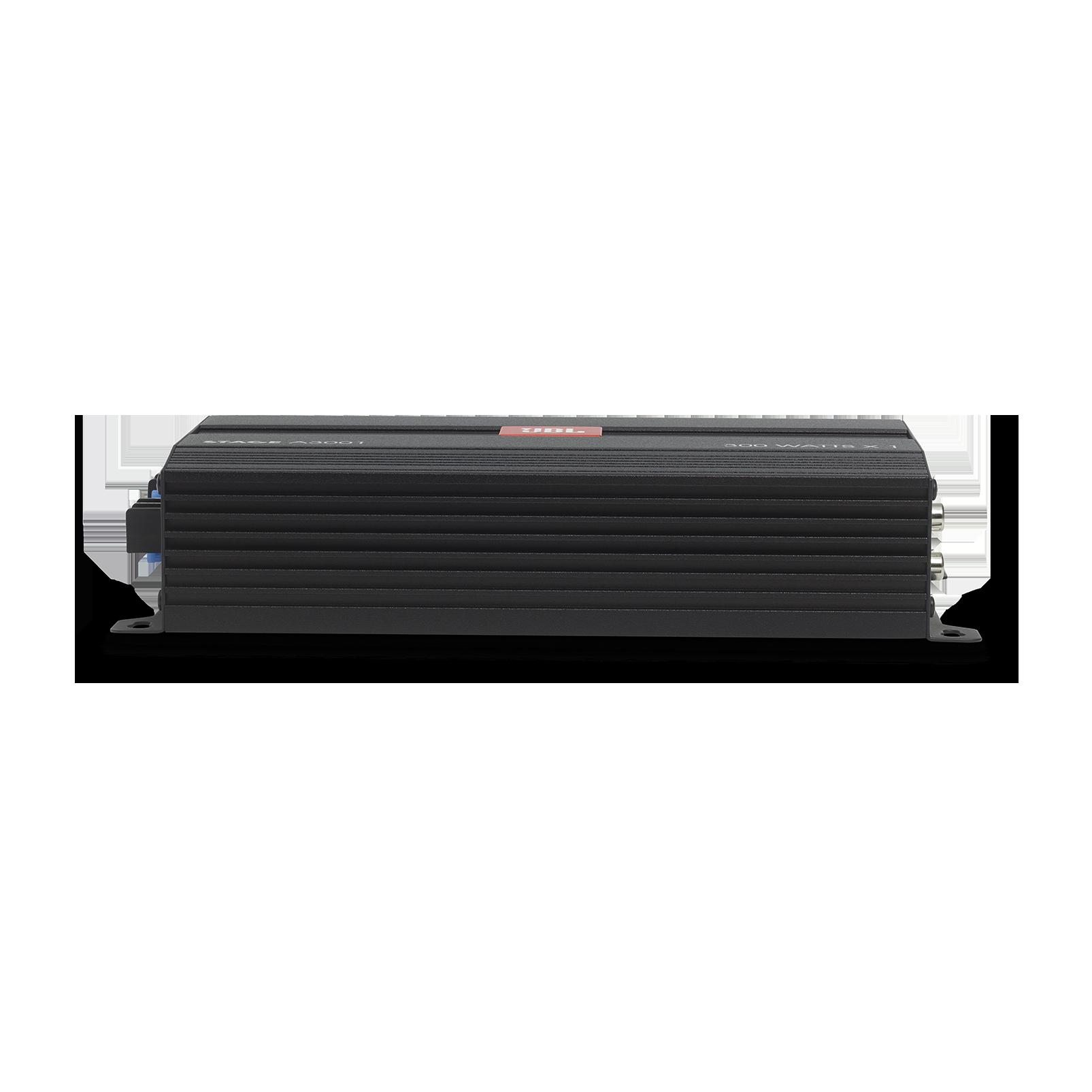 JBL Stage Amplifier A3001 - Black - Class D Car Audio Amplifier - Detailshot 3