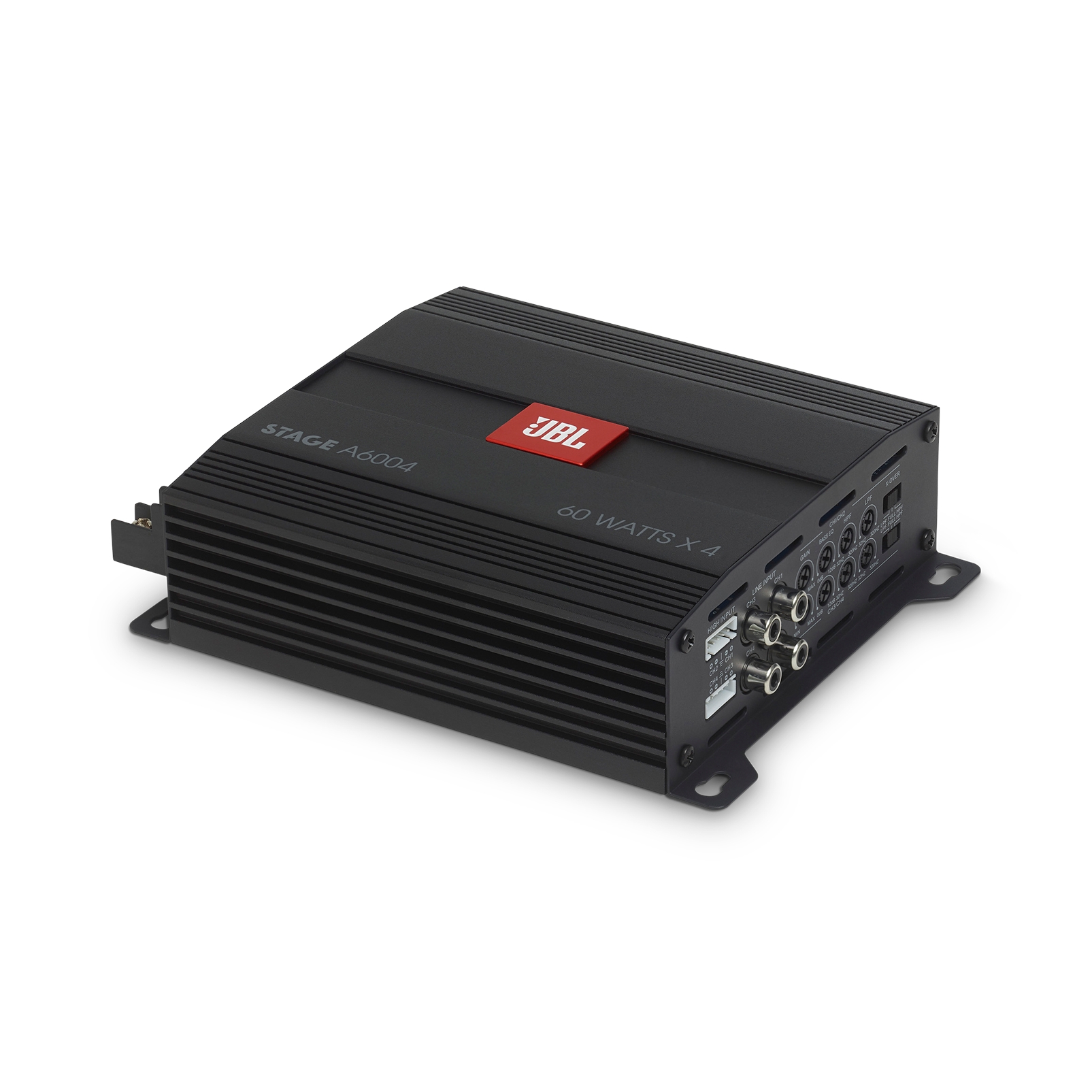 JBL Stage Amplifier A6004 - Black - Class D Car Audio Amplifier - Hero